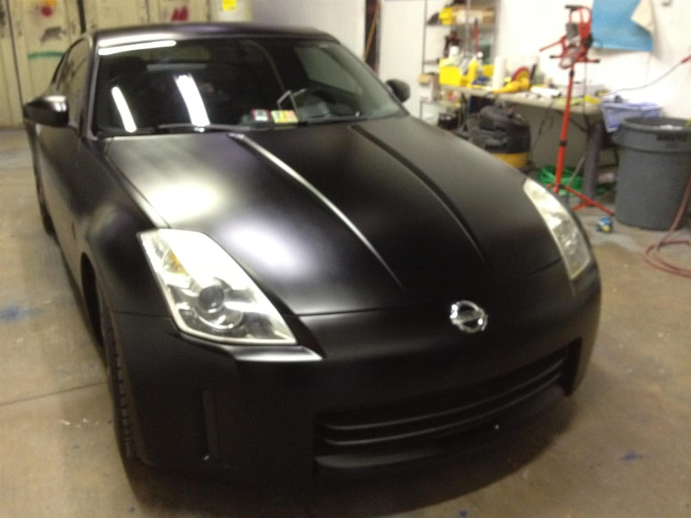 Whole Car Paint (Satin Black)