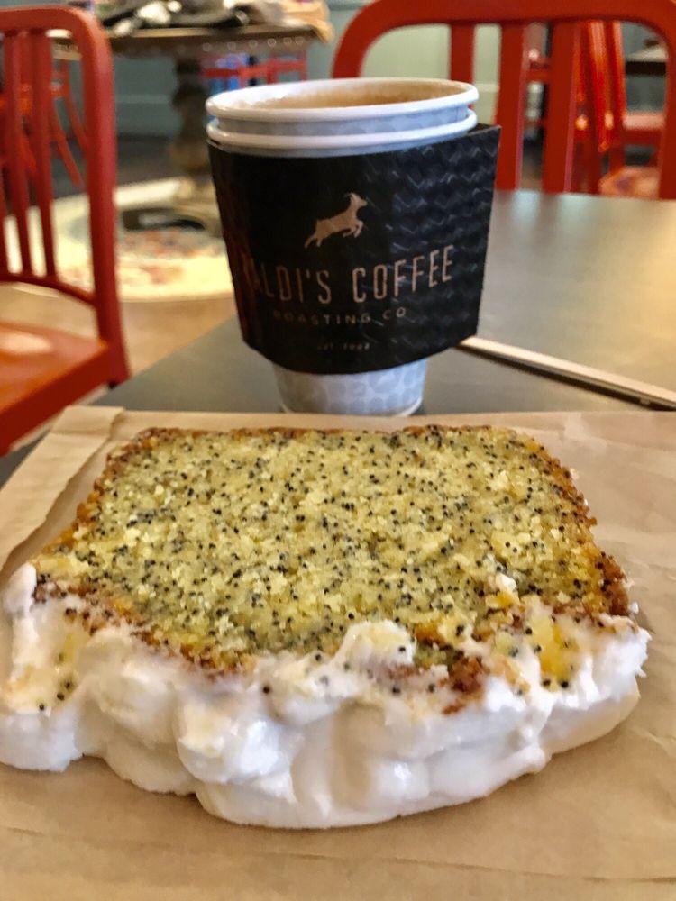 Kaldi's Coffee Roasting - The Depot: 1 Eagle Row, Atlanta, GA
