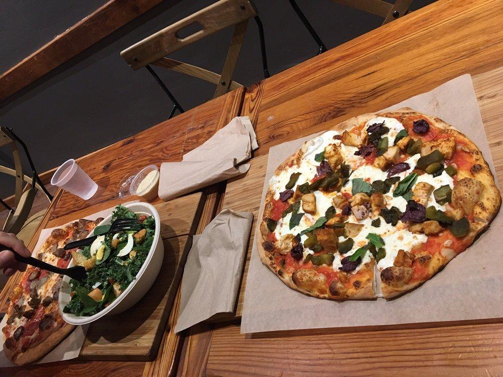 Food from Snap Custom Pizza