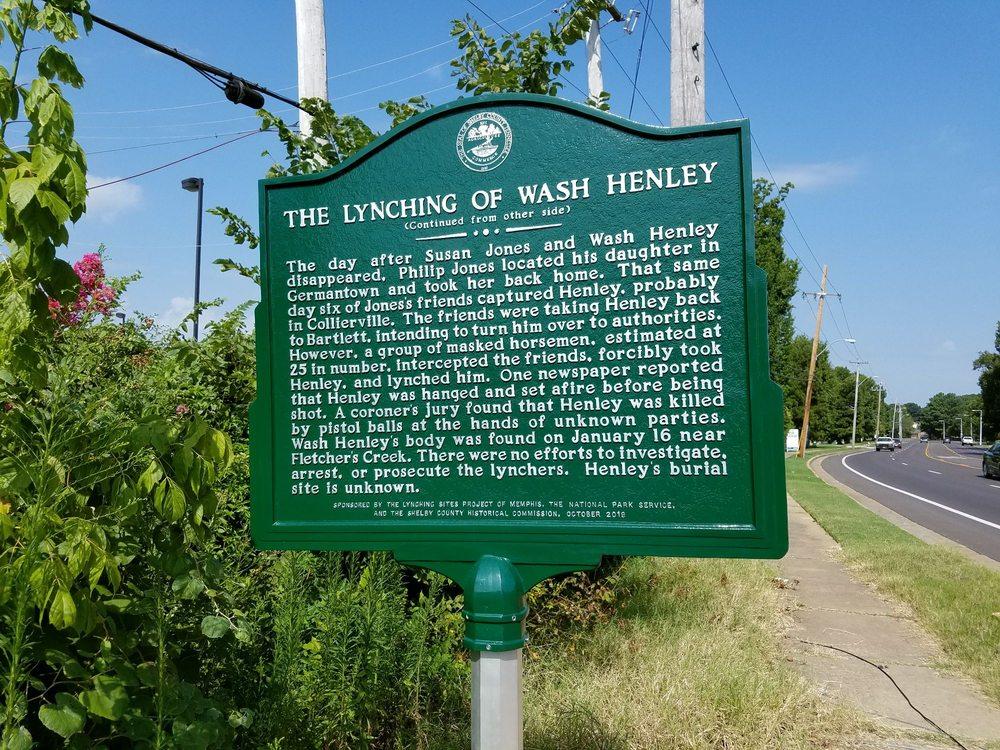 The Lynching of Wash Henley: 6490 Raleigh Lagrange Rd, Memphis, TN