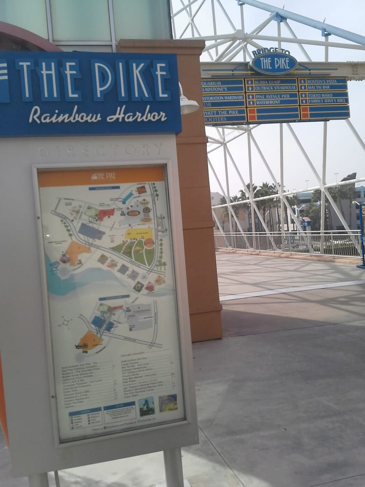 1a6a59ac8795 Bridge Pathway to from Aquarium of the Pacific   The Pike - Yelp