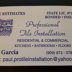 Professional tile installation tiling diamond bar ca phone photo of professional tile installation diamond bar ca united states business card ppazfo