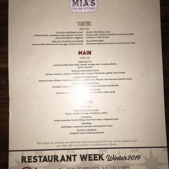Mia S Italian Kitchen Order Food Online 283 Photos 248 Reviews