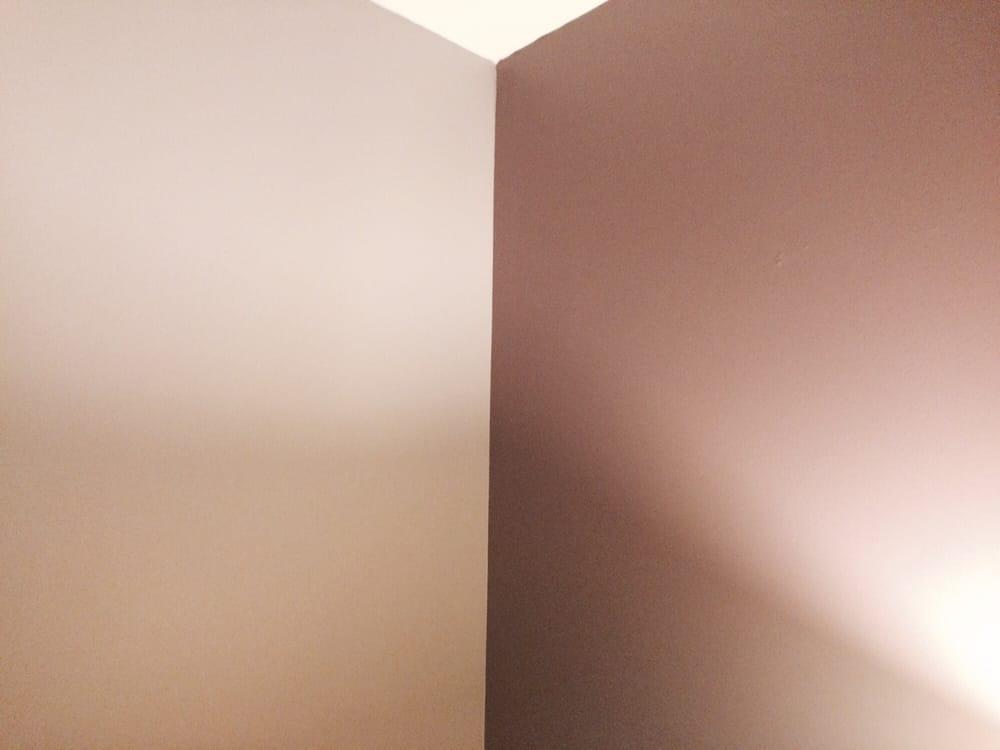 the corner walls of my new bedroom yelp