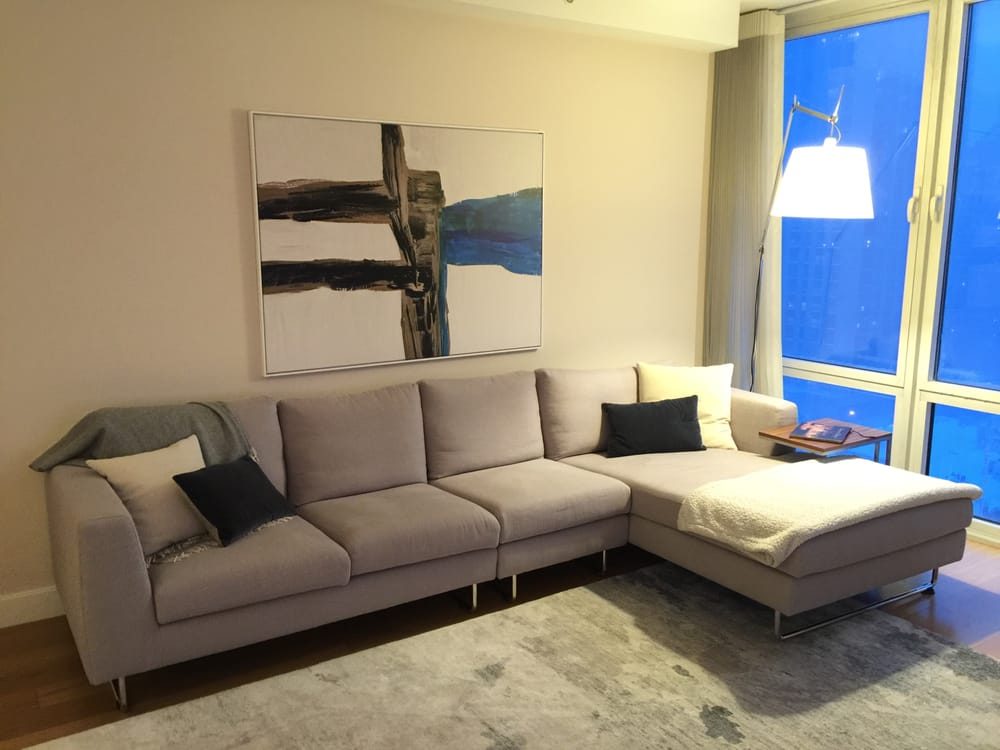 Photo Of Interior Define Chicago Il United States Asher Sectional A Perfect