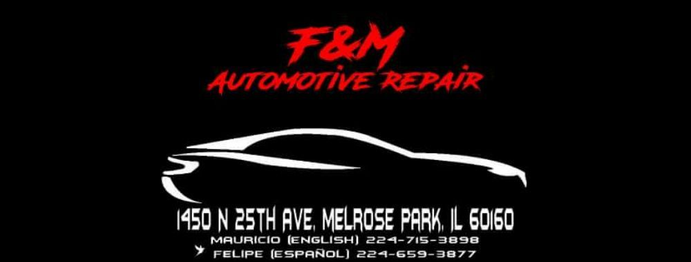 F & M Automotive Repair: 1450 N 25th Ave, Melrose Park, IL