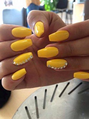 Glitter Nails Beauty