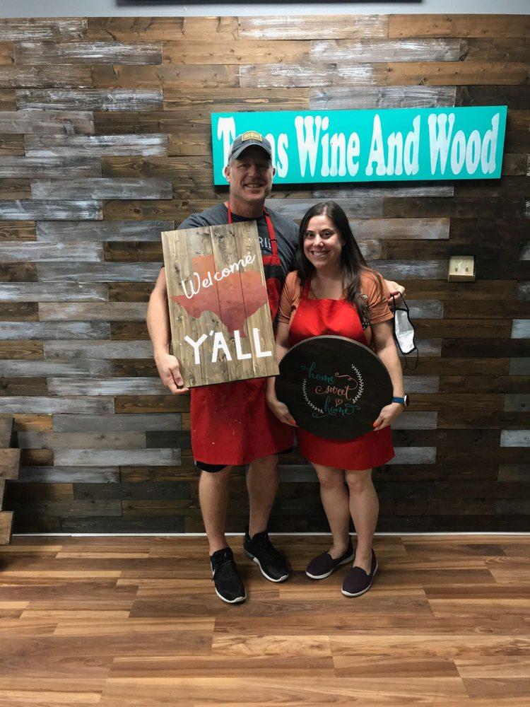 Texas Wine and Wood