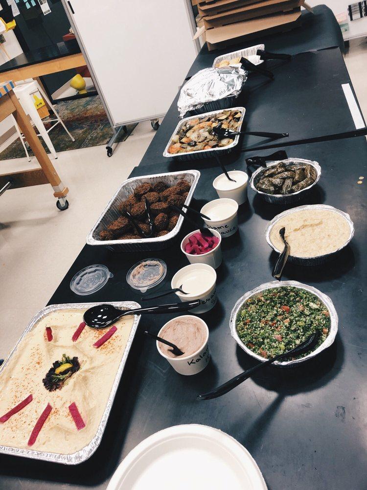 Food from Saca's Mediterranean Cuisine