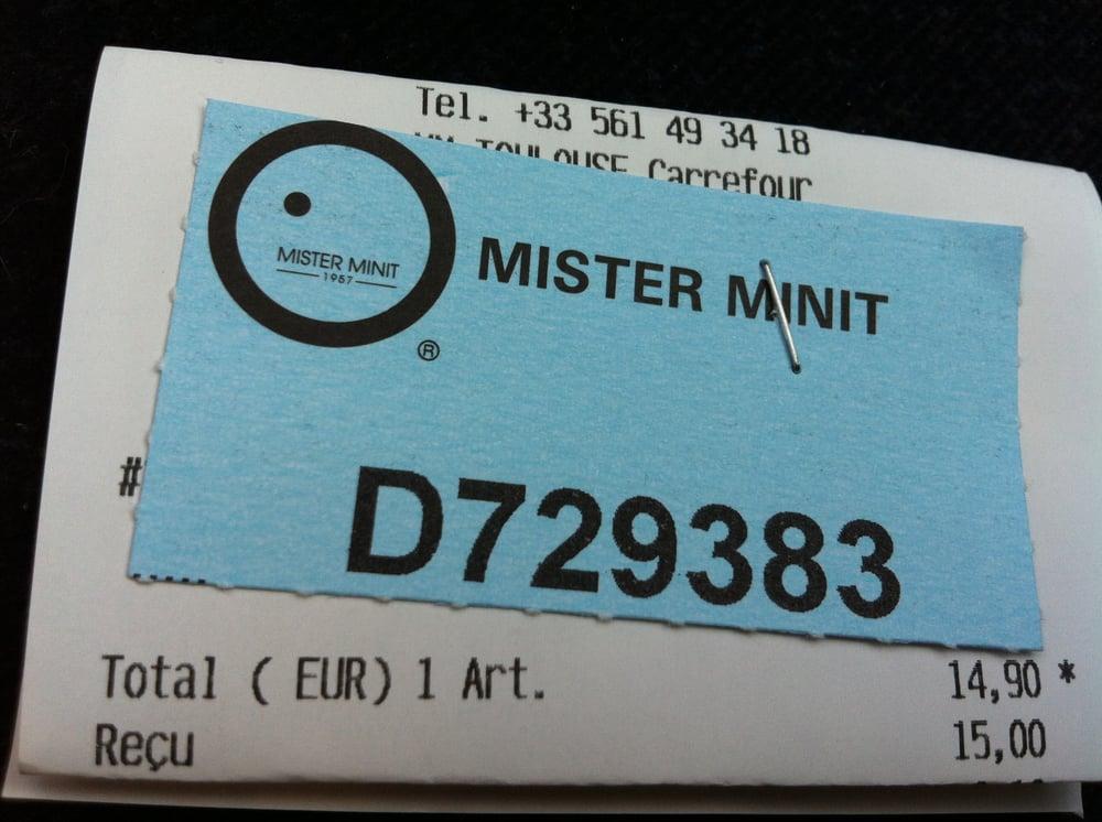 Mister minit shoe repair 36 route de bayonne purpan toulouse france phone number yelp - Reparation telephone bayonne ...