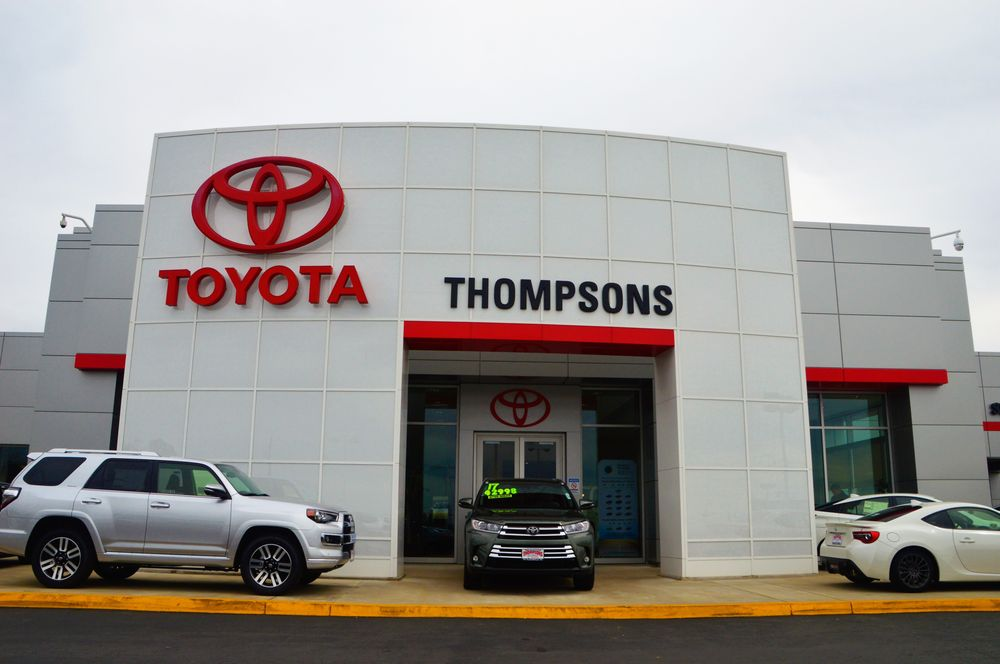 Thompson Toyota Placerville >> Thompsons Toyota 100 Photos 203 Reviews Car Dealers