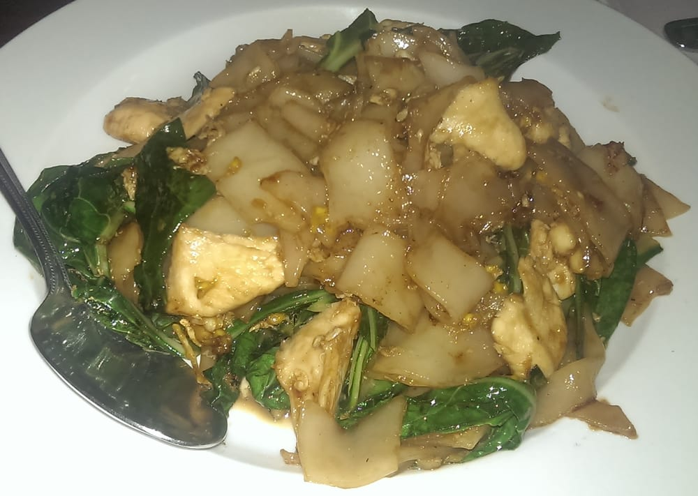 Pad see ew so good yelp for Aroy thai cuisine