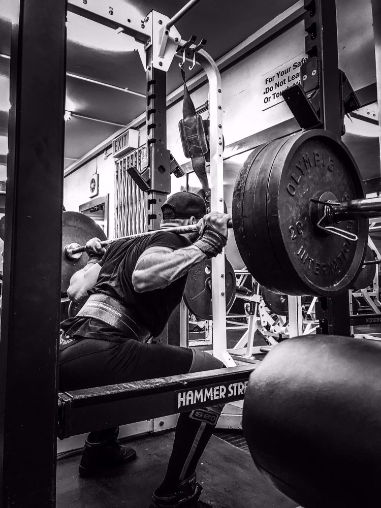 Squat with safety in our hammer strength power racks - Yelp