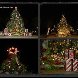 photo of botanica christmas lights charlotte nc united states
