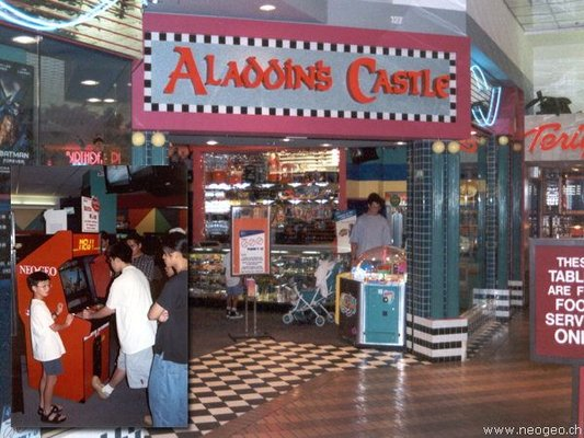 Bally S Aladdin S Castle Closed Amusement Parks 127