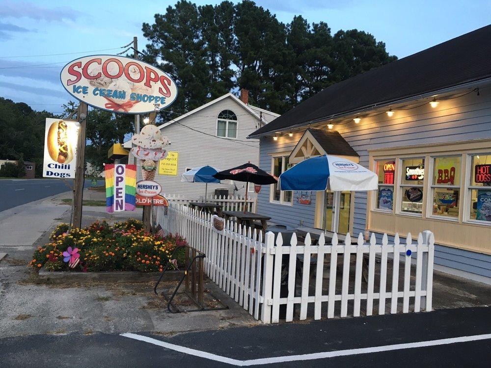 Scoops Ice Cream Shop: 132 Market St, Onancock, VA