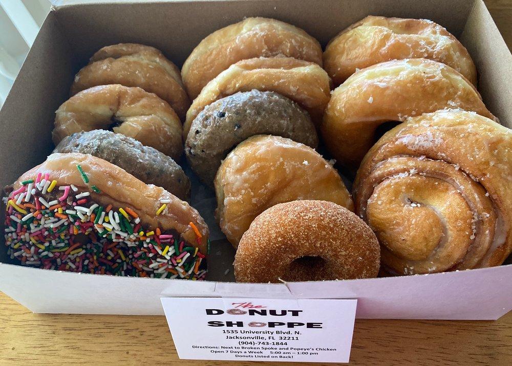 The Donut Shoppe: 1535 University Blvd N, Jacksonville, FL