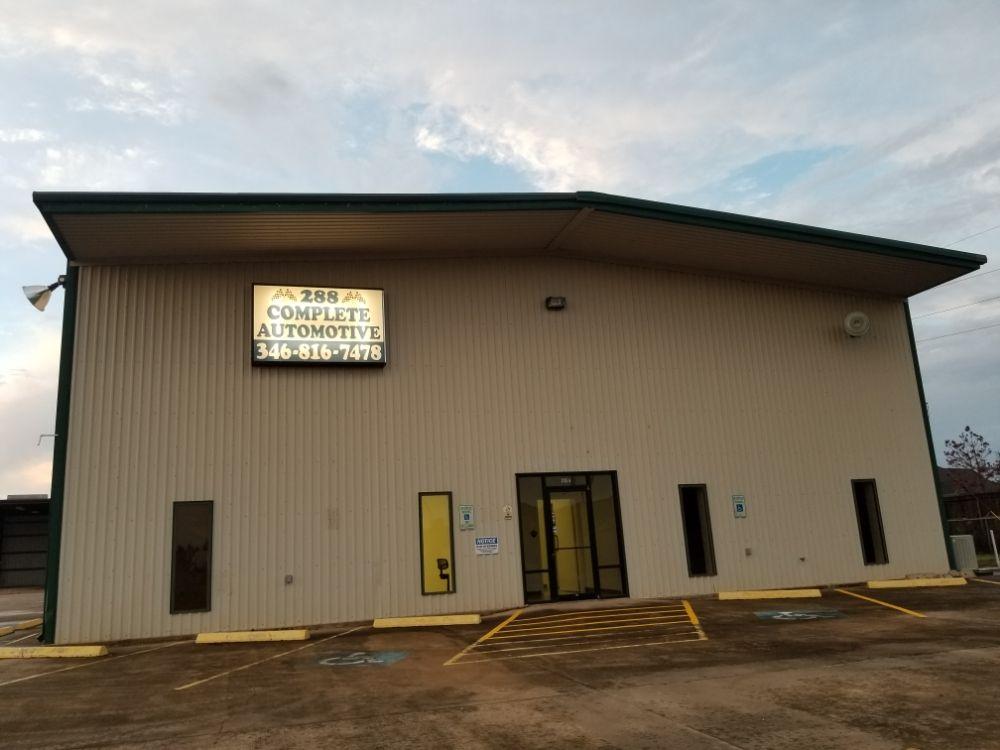 288 Complete Automotive: 3735 A CR 56, Rosharon, TX