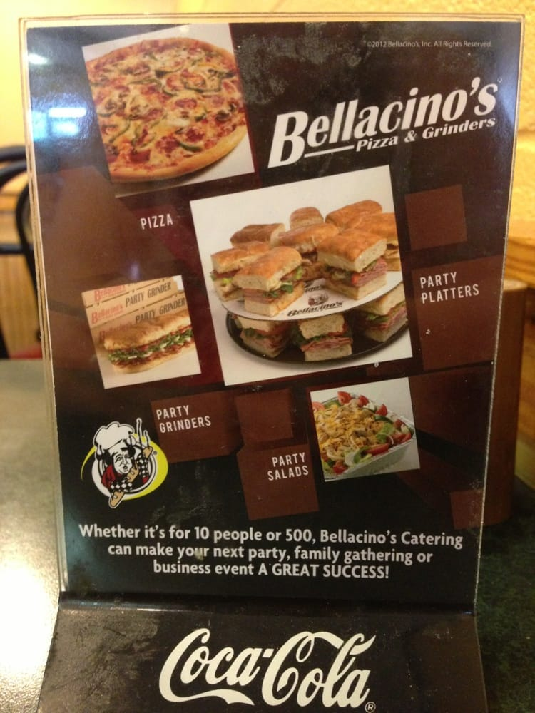 Bellacino's Pizza & Grinders: 868 Ritter Dr, Beaver, WV