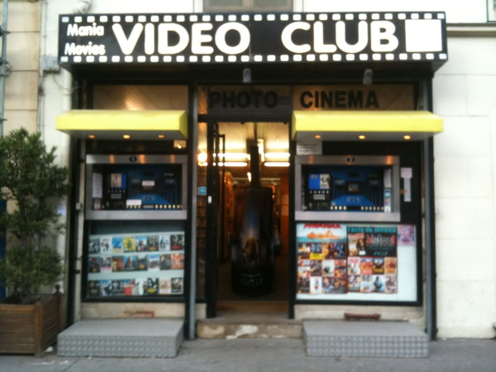 Vid o club mania movies art loisirs 105 boulevard de - Loisirs creatifs magasin paris ...