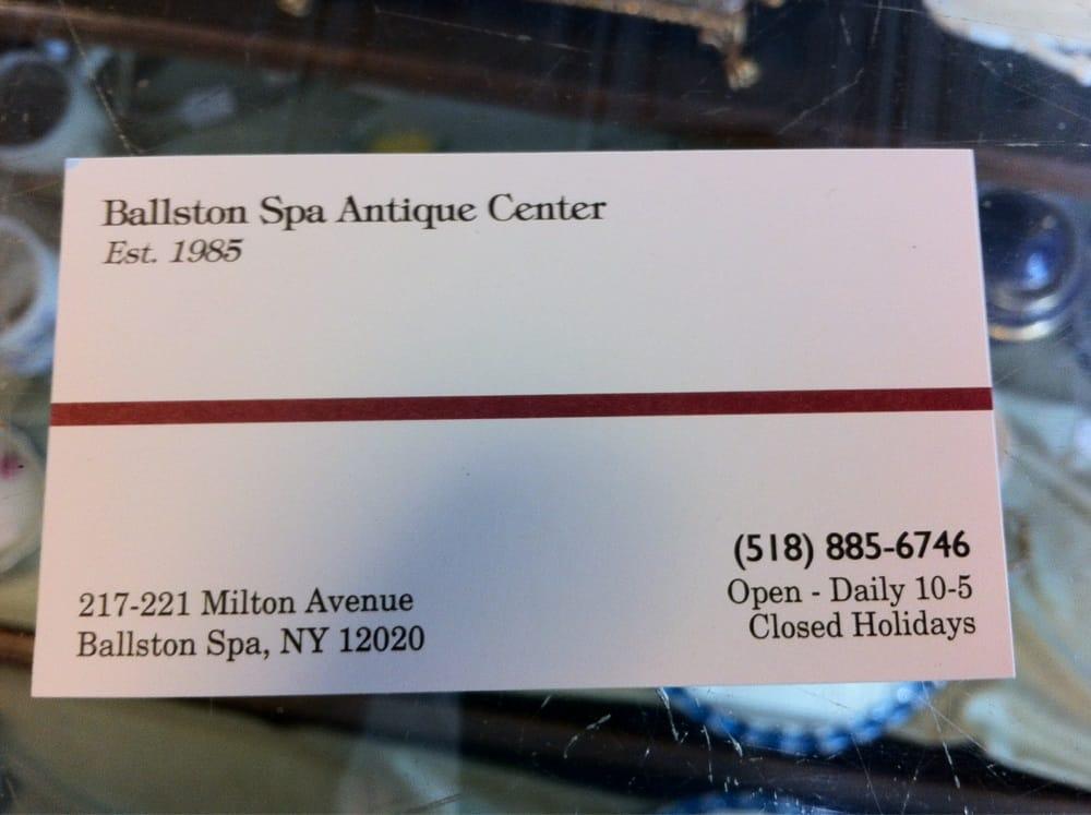 Ballston Spa Antique Center: 217 Milton Ave, Ballston Spa, NY