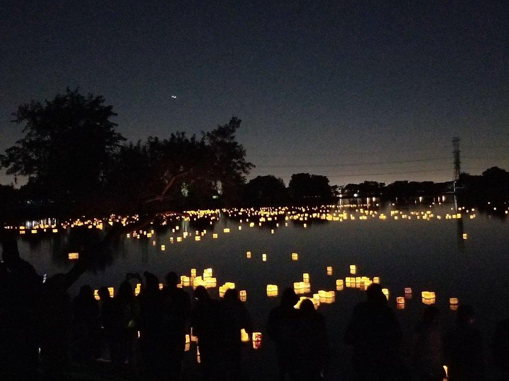 Water Lantern Festival: 750 Santa Anita Ave, South El Monte, CA