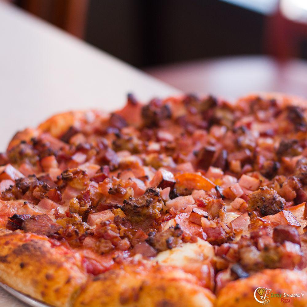 Little Diamond's Pizza: 933 S 6th St, Los Banos, CA