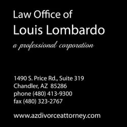 Law office of louis lombardo divorce family law 1490 s price photo of law office of louis lombardo chandler az united states solutioingenieria Images