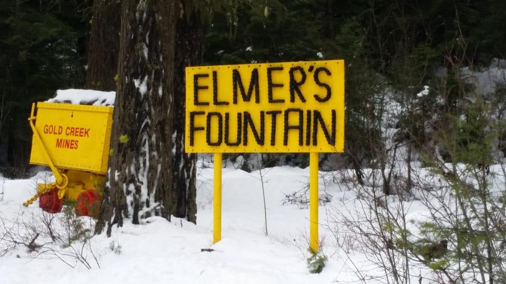 Elmers Fountain: Mullan, ID