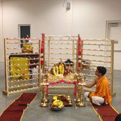 Photo Of Austin Hindu Temple   Austin, TX, United States. Deepalankara Seva