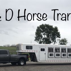 D And D Trailers >> D D Horse Transport Pet Transportation Jamestown Ca Phone