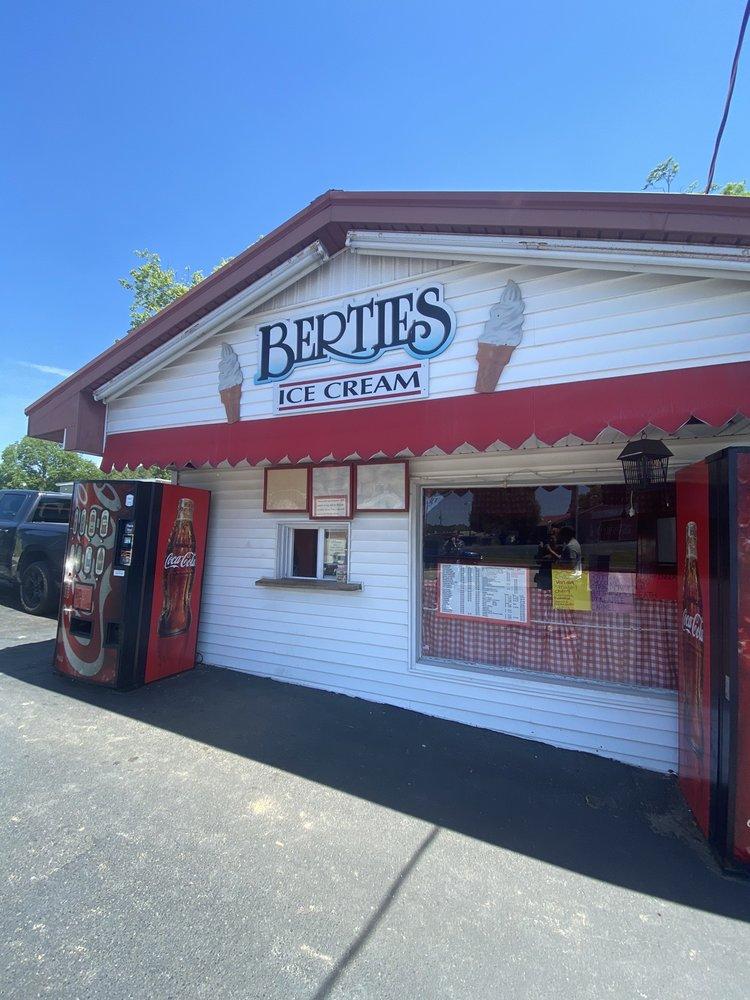 Bertie's Ice Cream: 310 S Main St, Brownsville, KY