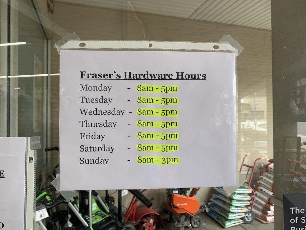 Frasers Hardware: 153 Route 6, Mahopac, NY