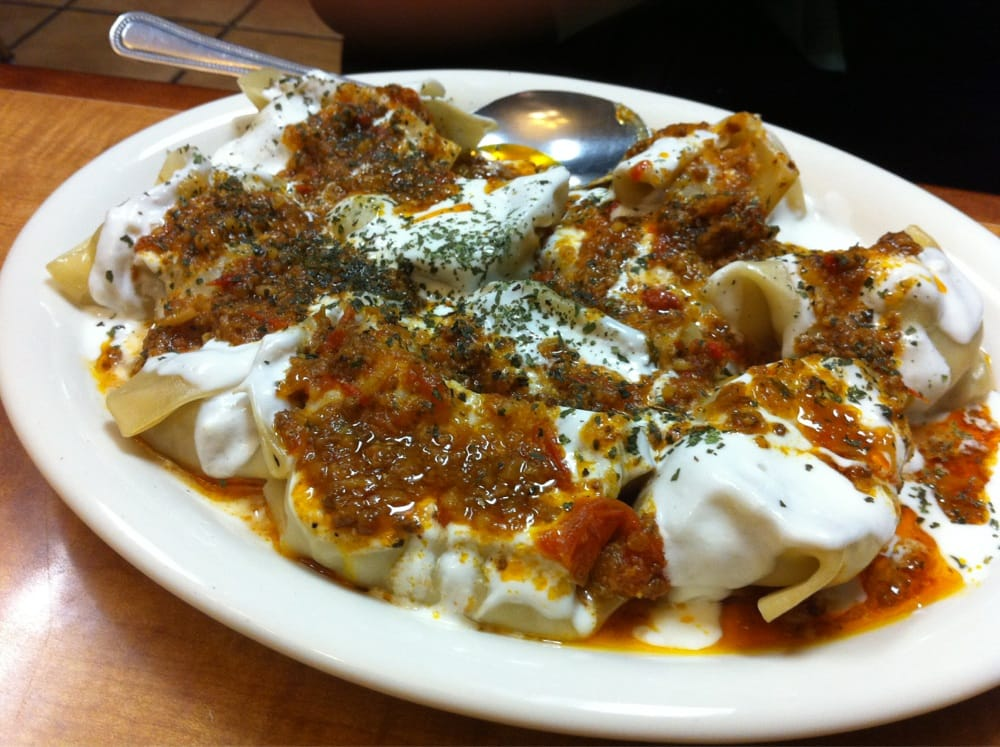Mantoo afghan style dumplings with beef and yogurt yelp for Afghanistan cuisine