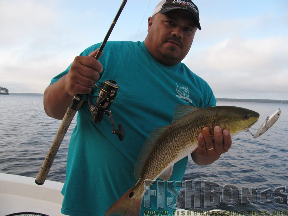 Fishbones inshore fishing charters fishing for Nc fishing charters