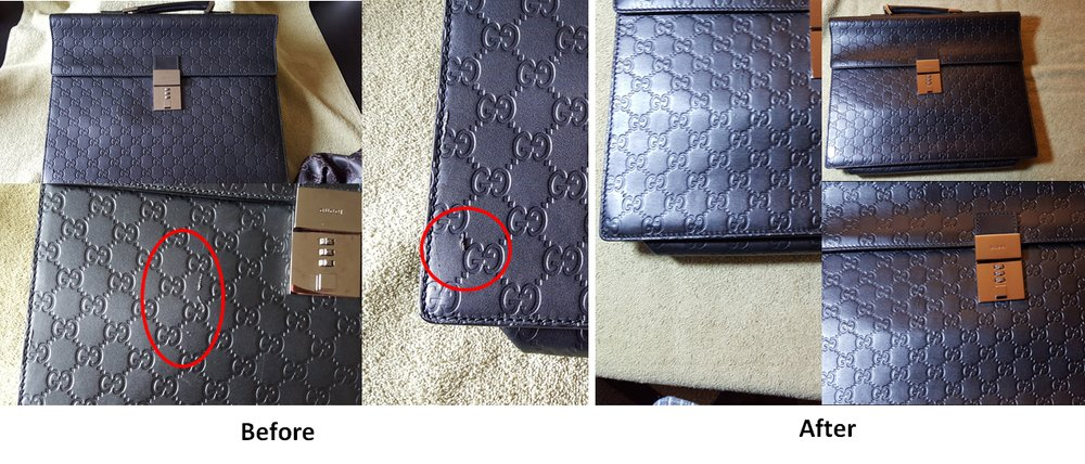 Photo Of Leather Repair Services Cliffside Park Nj United States Gucci Bag
