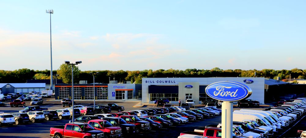 Bill Colwell Ford: 238 Waterloo Rd, Hudson, IA