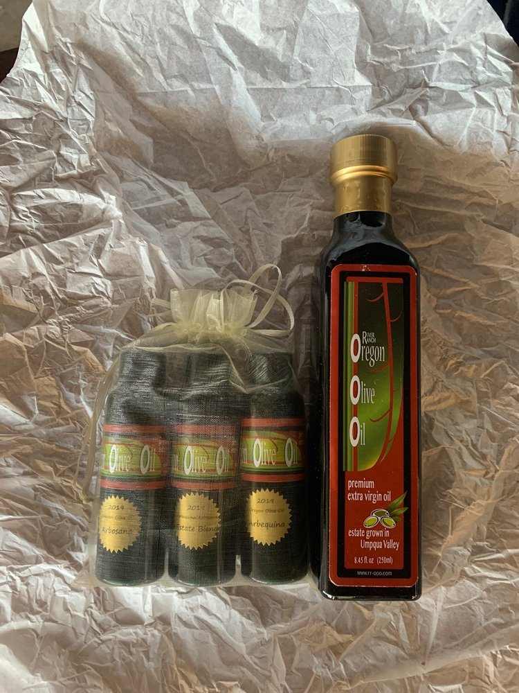River Ranch Oregon Olive Oil: 440 South Lone Rock Ln, Glide, OR