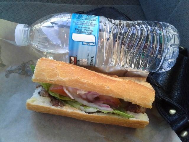 Water Sandwich How to make a tuna sandwich. water sandwich