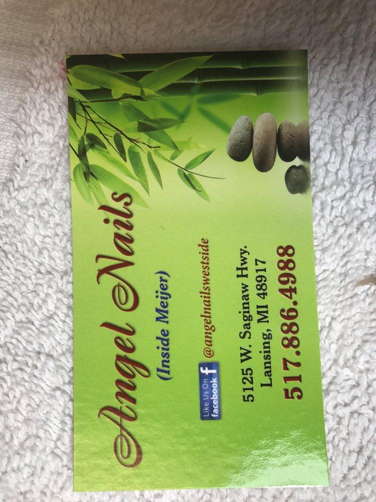 Angel Nails: 5125 W Saginaw Hwy, Lansing, MI