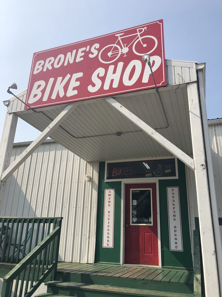 Brone's Bike Shop: 615 S Main St, Fountain City, WI