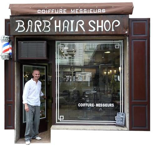 Barb'hair shop: 21 bd Carnot, Cannes, 06