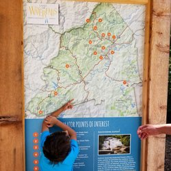 Dupont State Forest Map on