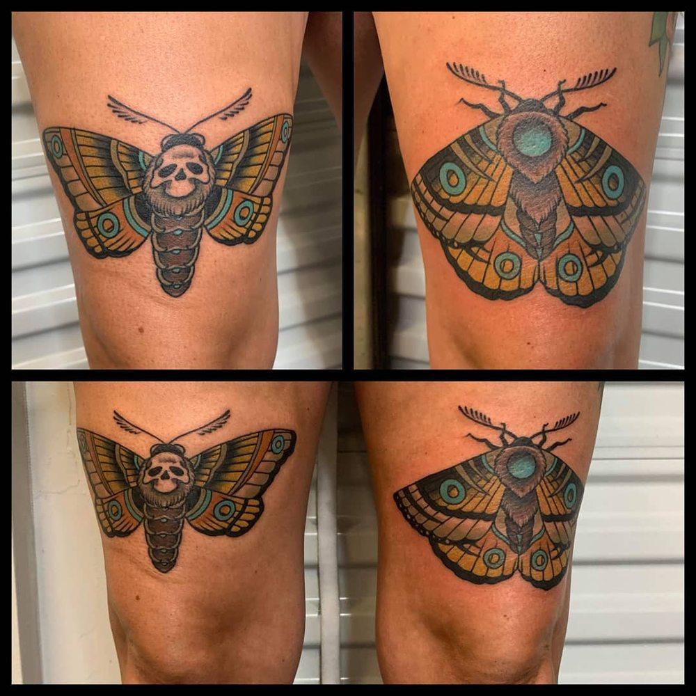 Metropolis Tattoo and Fine Art: 611 Sunset St, Denton, TX