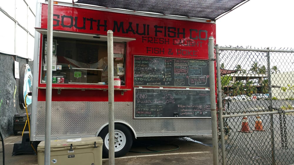 The food truck yelp for South maui fish company