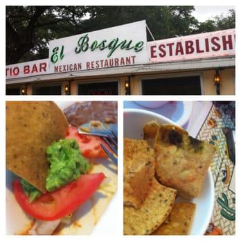 El Bosque Mexican Restaurant Patio San Antonio Tx