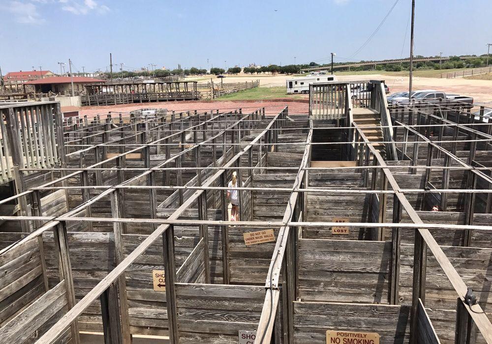 Cowtown Cattlepen Maze