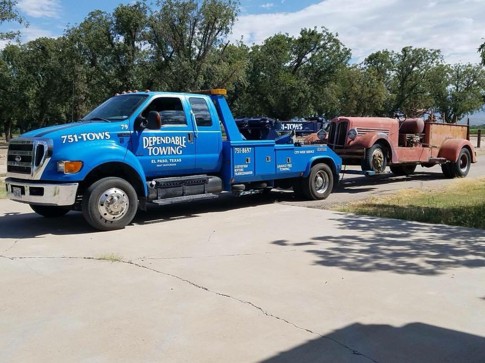 Tow Truck El Paso Tx >> Dependable Towing 15 Photos Towing 5847 Waycross Ave
