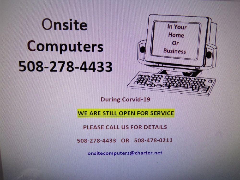 Onsite Computers: 368 W Hartford Ave, Uxbridge, MA
