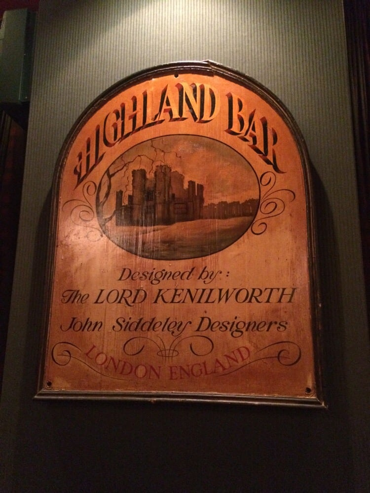 Bar Highlander